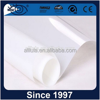 Wholesale Buildings Decorative Window Film for Bathroom and Office Matte white window decorative film