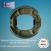 Exellent Friction Product Motorcycle Brake Shoe With Good Quality