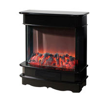 Easy operation energy saving decor flame electric fireplace heater