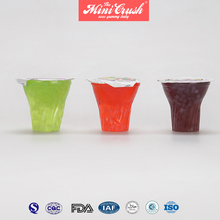 Mixed fruit flavored mini cup seaweed jelly
