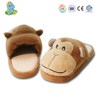 Custom Wholesale cheap monkey animal cartoon baby Slippers