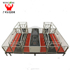 Hign quality automatic pig farming equipment BMC / plastic farrowing pen