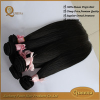 2015 hot tend 100% full cuticle cheap 7a grade virgin brazilian and peruvian hair bulk
