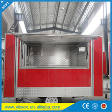 mobile dumpling machine cart / mobile food cotton kiosk trailer for sale / 2012 top sell food container house