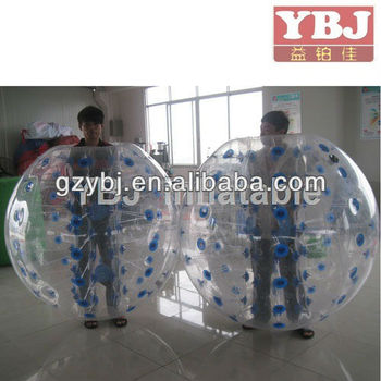 China popular inflatable bumper balls sports game