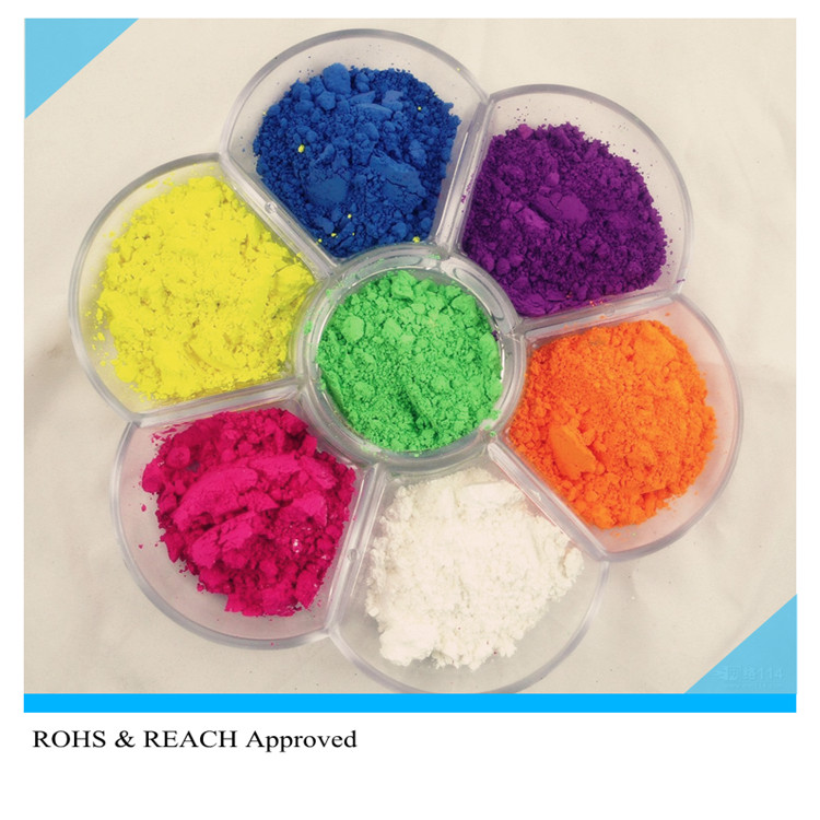 Organic Fluorescent color pigment for PVC blow moulding