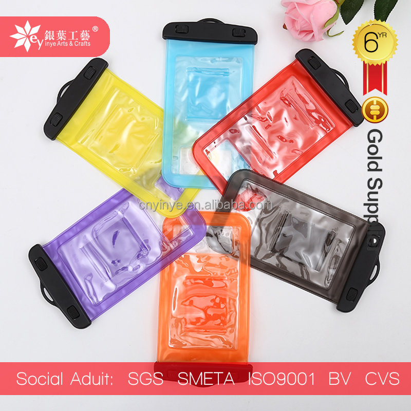 high quality custom clear plastic pvc pp eva waterproof dry bag with arm strip