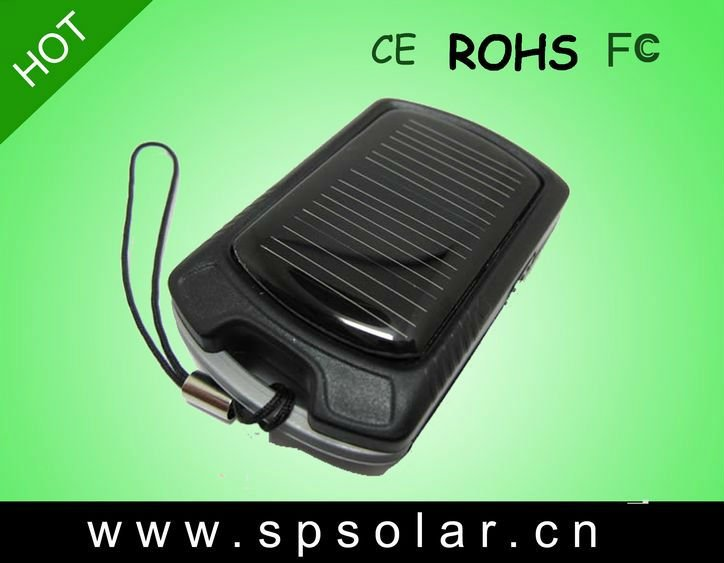 Mini Handy Sun Power Charger With 3 LED Lamps