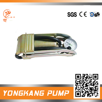 foot pump gas ram air rifle golden single barrel foot pump