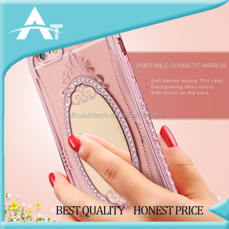 2016 shiny crystal material guangzhou mobile phone shell case