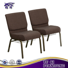 cheap wholesale auditorium church chair with armrest for rental