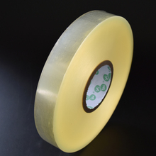 Big roll transparent yellow PVC Stretch Film wrapping for Cables