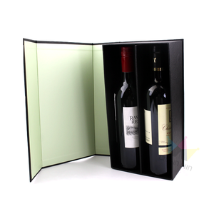 Top Grade Wine Packaging Box PU Leather Wine Box