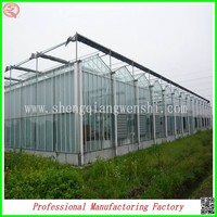 modern PC sheet greenhouse with low cost for sale made in China