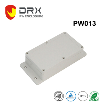 IP65 Crushproof diecast abs plc enclosure for electronic device