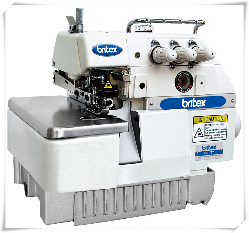 BR-737 super high speed Three Thread Sewing machine overlock stitch industrial Sewing Machine