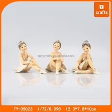 Cartoon Italian dancer resin ballerina figurine