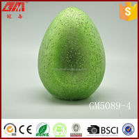 wholesale glass artificial easter egg with light