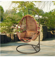 PE material Garden Guaranteed Quality Balcony Wicker Rattan Hanging Swing Chair
