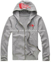 Customized grey Sweatshirt with Embridery <strong>logo</strong>