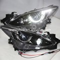 New Style LED Head Lamps for MAZDA 3 Axela2013-2015 year LD