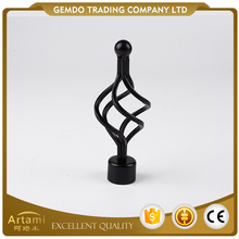 Best sale made in China cheap price universal iron curtain rod finials