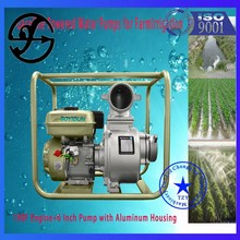 2015 hot sale farm irrigation equipment water pumps with 168 F engine
