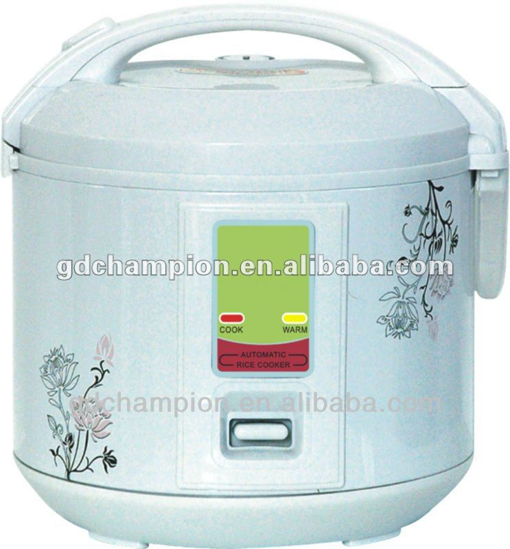 2015 new design hot sale deluxe rice cooker MRC001 white electric rice cooker
