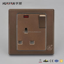 New product OEM design wall electric socket switch in many style