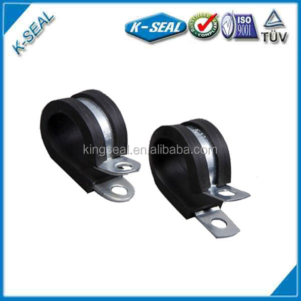 all round epdm rubber lined pinch clips tube clamps KPCF38