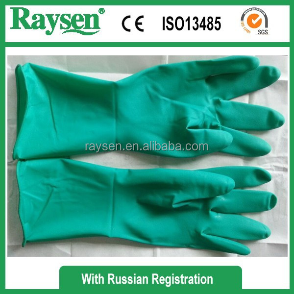 Nature Rubber Latex Surgical Glove Made in China