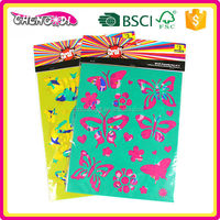 Fashion Product plastic stencil paper , plastic stencil for kids, plastic stencil for drawing