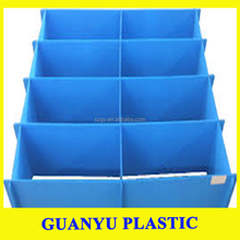 Flexible Clear Plastic Corrugated PPSheets/coroplast sheet