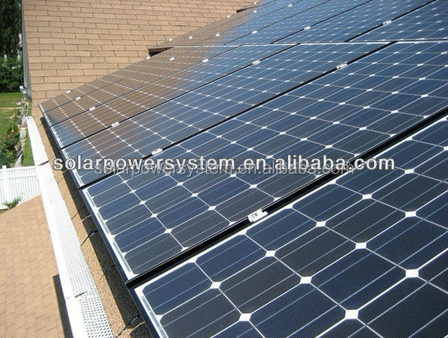 3000W for all family using and High quality grid switch 10w solar home system