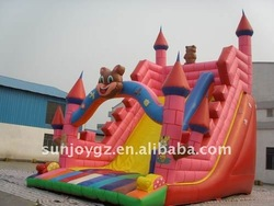 2015 Hot-sale funny inflatable slider