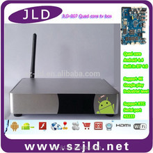 JLD007 google tv box android 2.3 m3 smart tv box android 4.0
