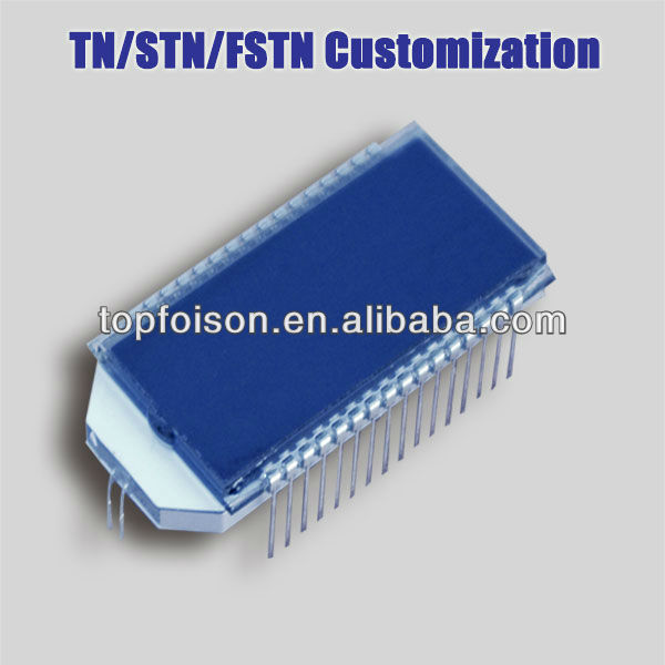 TF16241-01-DSNN fstn graphic lcds display module 16 characters*2 lines 5*8 dots+ICONS