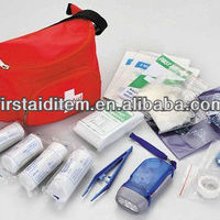 Aged Outdoor First Aid Kit