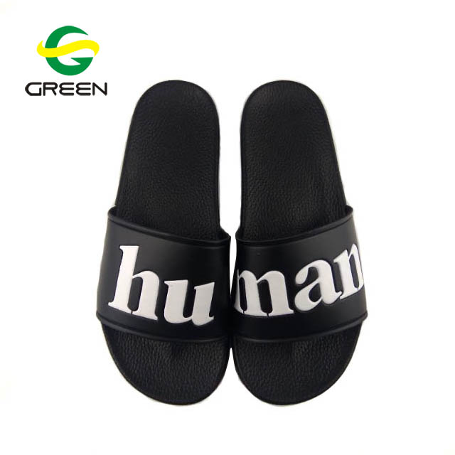 Greenshoe 2018 online shopping black plain slide <strong>sandal</strong> ,latest design men <strong>sandal</strong> blank custom logo men slide <strong>sandal</strong>