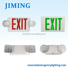 JIMING-UL cUL Exit Sign Combo Emergency Lights JLEC2RW -150512