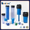 whole house big blue clear water filter housing / sediment filter system