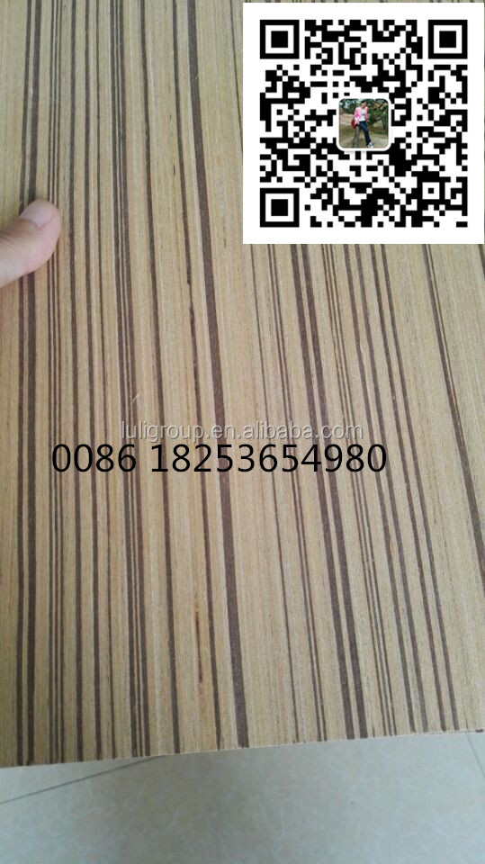 MDF with Teak <strong>veneer</strong> Straight line sell to India market