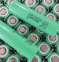 Authentic Samsung 25R 18650 3.7v batteries Wholesale samsung INR18650-25R 2500mah