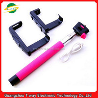 Good selling phone camera wireless bluetooth selfie monopod