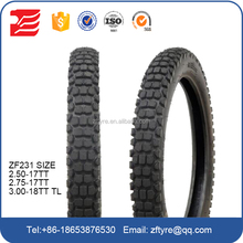 2017 Factory Wholesale China Cheap MOTORCYCLE TIRE 2.50-18 2.75-18