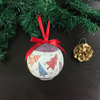 Wholesale Christmas Tree Ornament Gift Ribbon Foam Ball Decoration New Year Craft Supply Party Birthday Wedding Decor