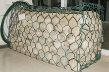 galvanized or colorful powder coated gabionbox / gabion basket
