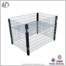 wire steel cage for storage container