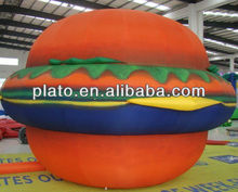 Giant Hamburger Inflatable Advertising Balloon for sale