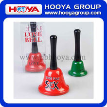 7.5*13cm middle wireless call bell with words in PVC box